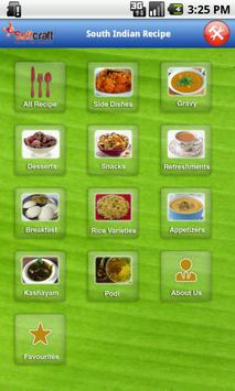 South Indian Recipe poster