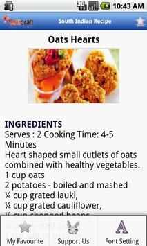 South Indian Recipe apk screenshot