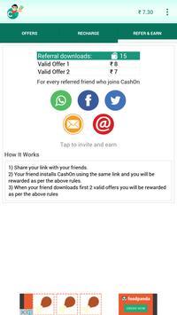 Free Real Money - CashOn screenshot 1