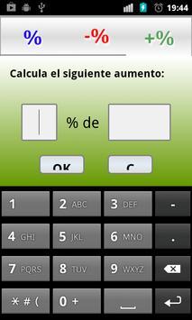 Percentages screenshot 1