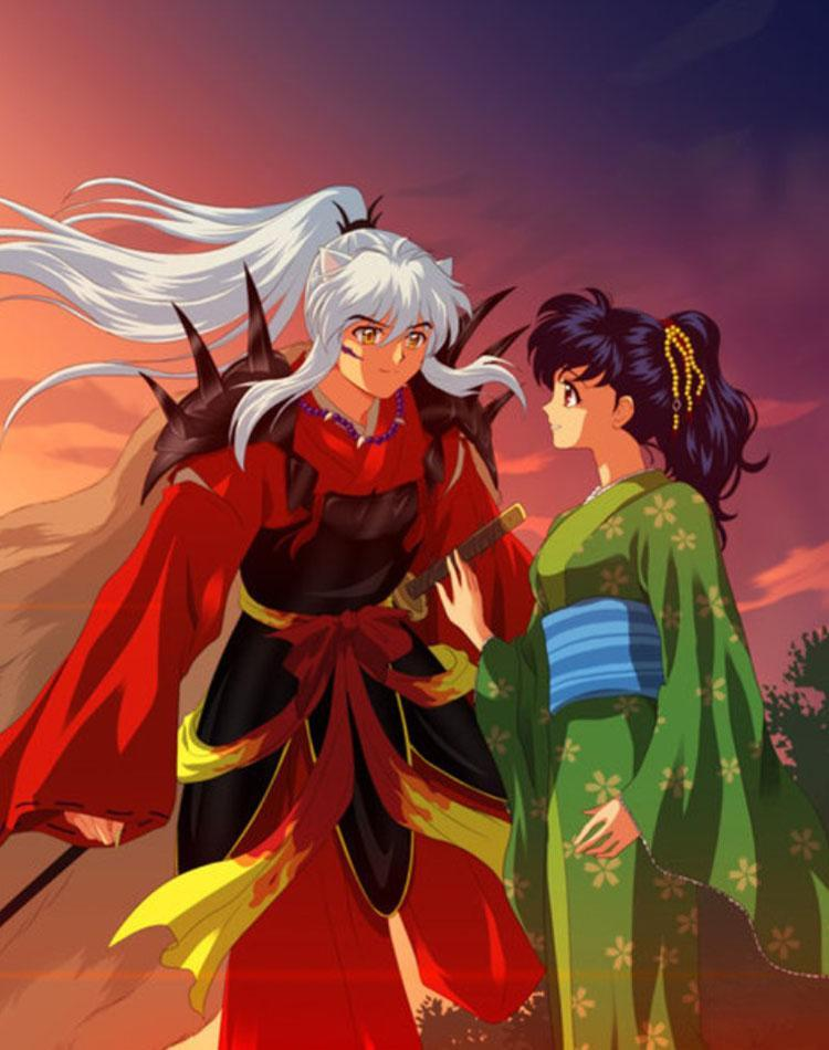Hd Inuyasha Kagome Wallpaper For Android Apk Download