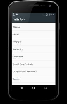 India Facts poster