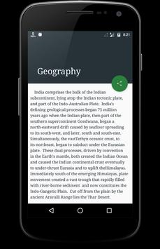India Facts apk screenshot
