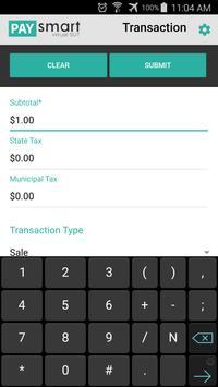 PaySmart Virtual SUT apk screenshot