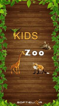Kids Zoo - Vertebrates poster
