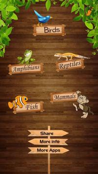 Kids Zoo - Vertebrates screenshot 1