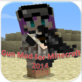 GUNS MOD FOR MINECRAFT 2014 icon