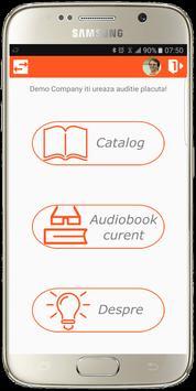 Audio Biblioteca screenshot 1
