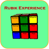 Game Rubik Experience, igular cube colors icon