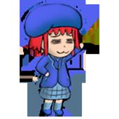 Tomato Girl's Clock Widget II icon