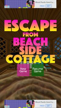 Escape from Beach Cottage poster