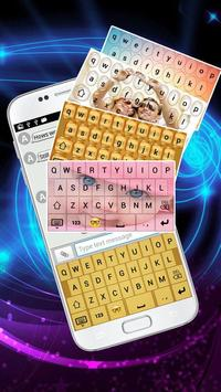 Water Drop Type Keyboard apk screenshot
