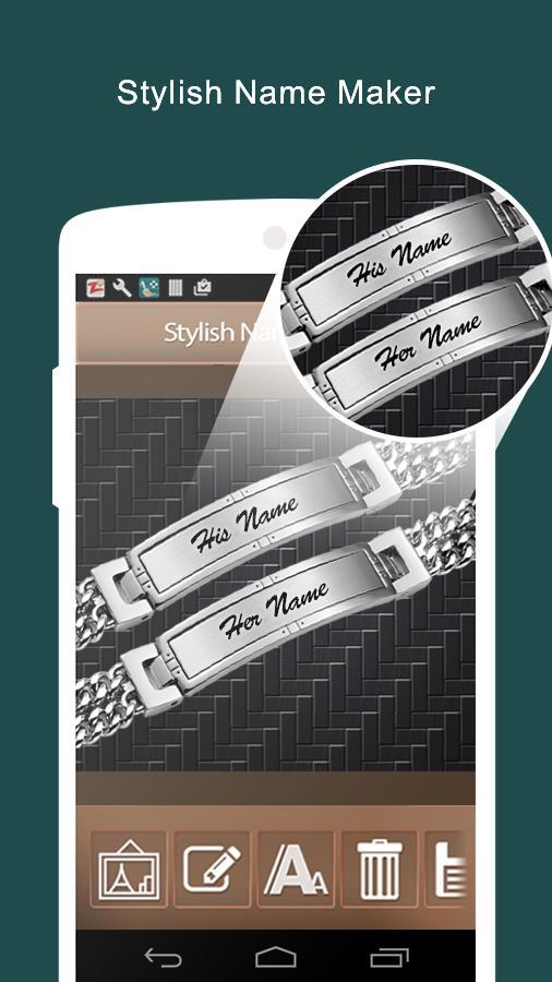 Stylish Name Maker & Generator poster