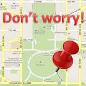 Do not worry! (GPS) icon