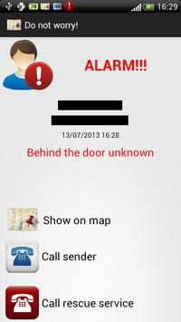 Do not worry! (GPS) apk screenshot