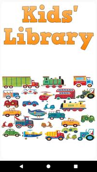 Kids' Library: Transport poster