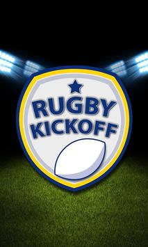 Rugby Kickoff poster