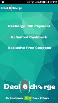 Cashback Coupon Shop Recharge poster