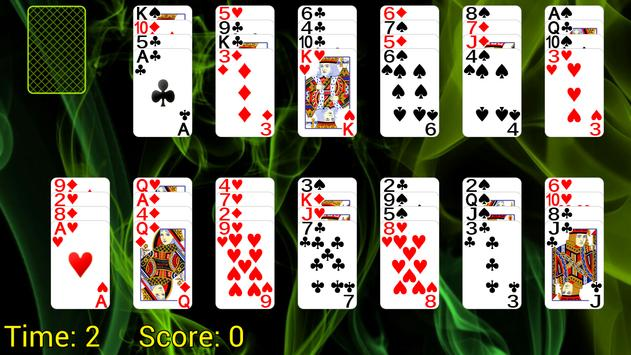 All In a Row Solitaire poster