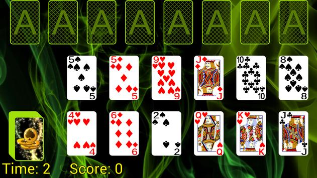 Busy Aces Solitaire poster