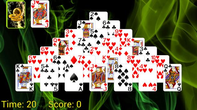 Pyramid Golf Solitaire poster