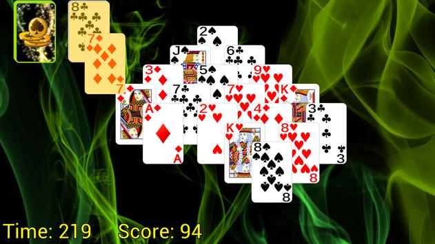 Pyramid Golf Solitaire apk screenshot