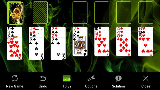 Spider Solitaire (Web rules) apk screenshot