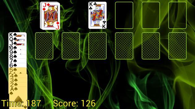 Spider Solitaire (Web rules) apk screenshot