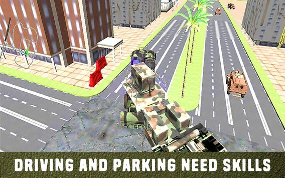 Army  Truck Driving Simulator poster