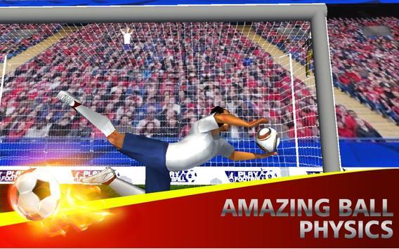 Soccer Flick Shoot 3D apk screenshot