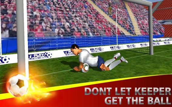 Soccer Flick Shoot 3D poster