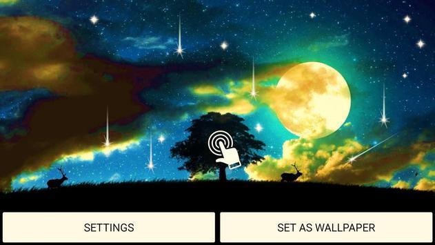 Mystic Night Live Wallpaper apk screenshot