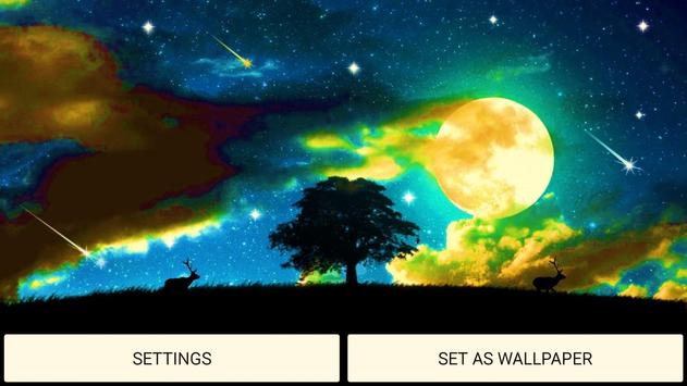 Mystic Night Live Wallpaper screenshot 5