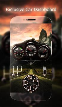Car Dashboard Live Wallpaper poster
