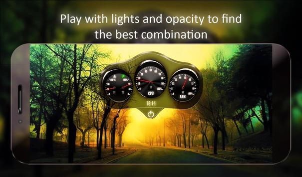 Car Dashboard Live Wallpaper screenshot 10