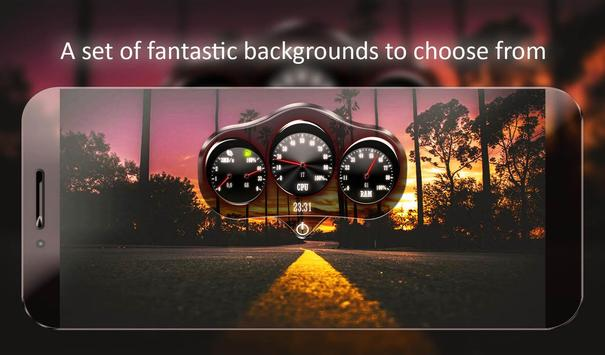 Car Dashboard Live Wallpaper screenshot 11