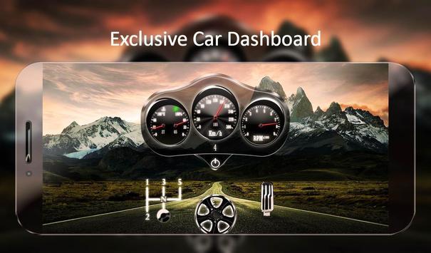 Car Dashboard Live Wallpaper screenshot 12