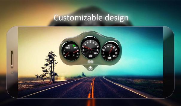 Car Dashboard Live Wallpaper apk screenshot