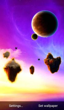 Flying Islands Live Wallpaper apk screenshot