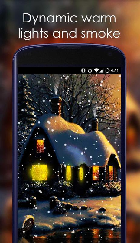 using apkpure app to upgrade snow live wallpaper fast free and save
