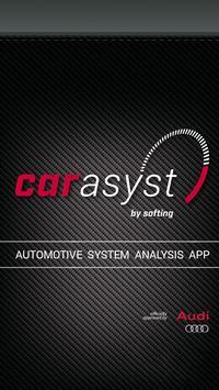 CAR ASYST - Audi analysis App poster