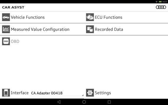 CAR ASYST - Audi analysis App apk screenshot