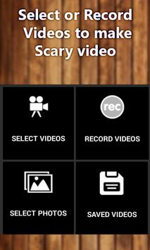 Horror Video Maker:Scary,Ghost Image Movie Editor apk screenshot