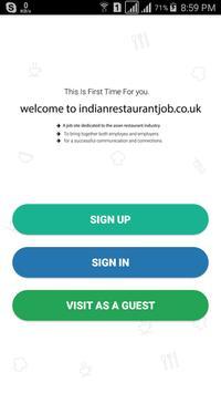 Restaurant Job poster