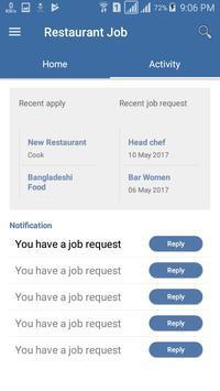 Restaurant Job apk screenshot
