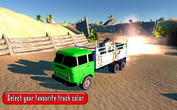 Offroad Cargo Truck Game 2017 apk screenshot