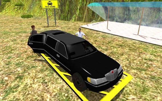 Hill Climb Limo Taxi Driver apk screenshot