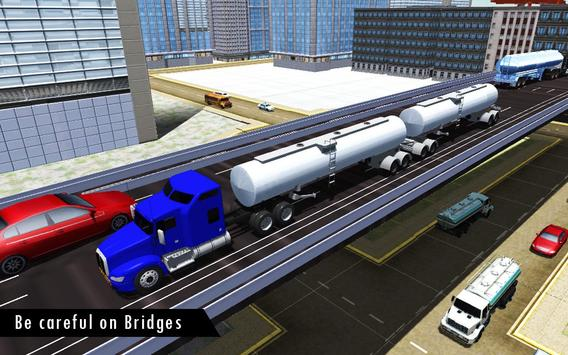 Oil Tanker Fuel Transporter 3D screenshot 2