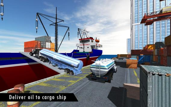 Oil Tanker Fuel Transporter 3D screenshot 3