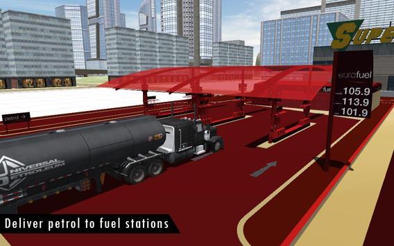 Oil Tanker Fuel Transporter 3D screenshot 4